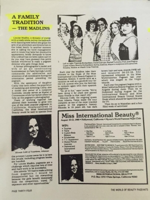 Miss International Beauty 1980