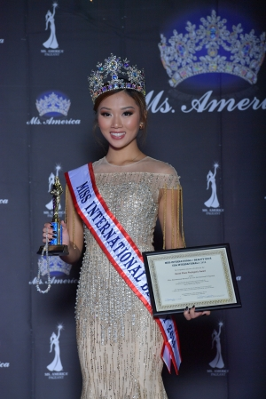 Miss International Beauty 2018 - Jacqueline Dang